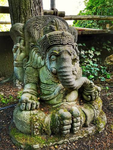 Meditating Ganesha