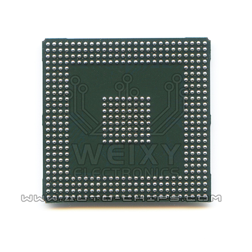 SAK-TC1796-256F150E BE commonly used vulnerable MCU storage chip for Mercedes-Benz and BMW ECU(反)