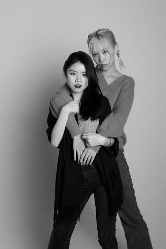 Sabrina (model) Chantelle Jiang (mua)