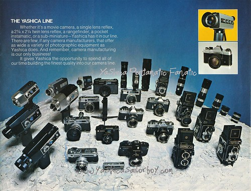 From 1975 - Yashica, A New Horizon Brochure