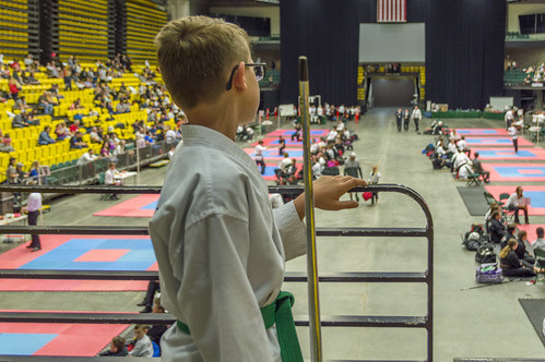 Anticipation at the Karate Tournament