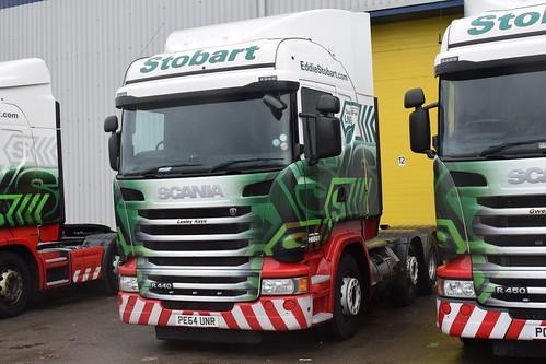 PE64UNR H6887 Eddie Stobart Scania 'Lesley Kaye'