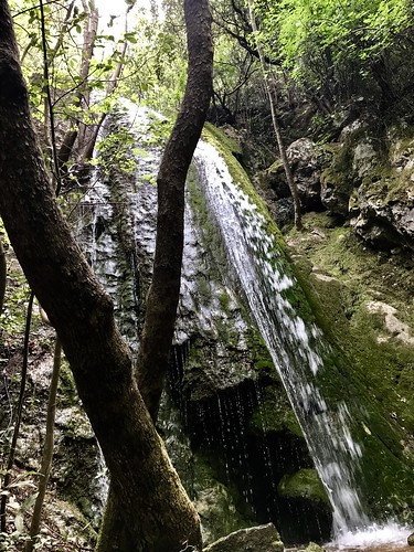 Wasserfall bei Ambelos, Samos GR