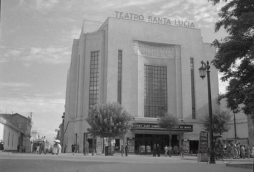 El Teatro-Cinerama Santa Lucía de Santiago de Chile y el listado de las salas de cine en el siglo XX  mayo 2019