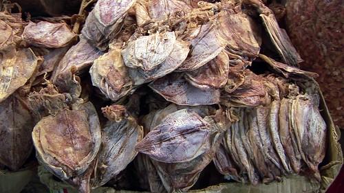 Cambodia - Phnom Penh - Orussey Market - Dried Squid - 152