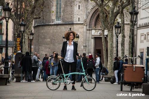 Ella i la seva bici, inseparables - Retrat ciclista a Rut Vidal