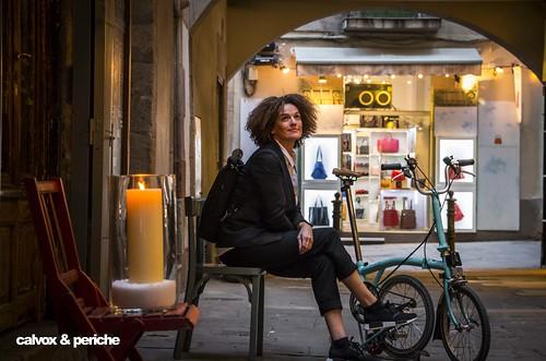 Pensament positiu - Retrat ciclista a Rut Vidal