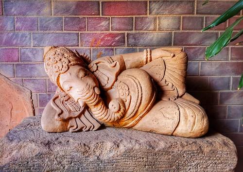 Lazy Ganesha