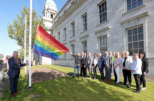 The Launch of the Cork LGBTI+ Awareness Week, 'Allies for Inclusion', at City Hall, Cork. Picture: Jim Coughlan.