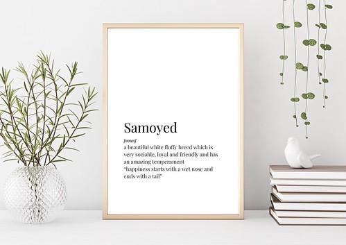 Samoyed Definition Print Main