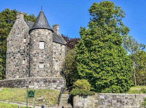 Wallace Tower est 1600's - Aberdeen Scotland