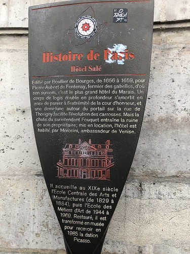 Histoire de Paris : Hôtel Salé - Paris 3