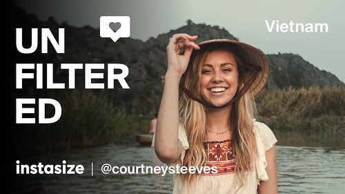 Unfiltered Podcast 03: How do I become an Instagram influencer? featuring @CourtneySteeves, Vietnam