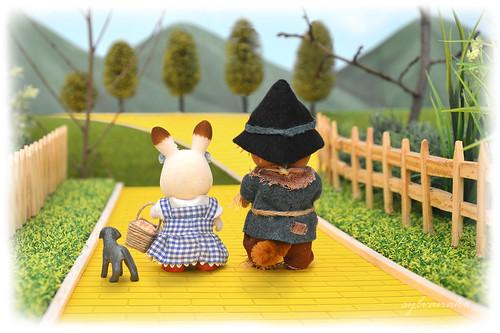 Sylvanian families - The scarecrow