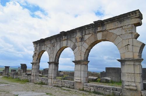 Volubilis (Oualili) - Decumanus Maximus