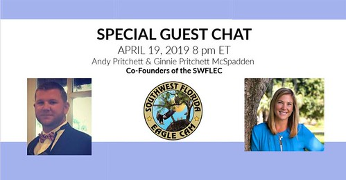 Chat Session with Andy Pritchett and Ginnie Pritchett McSpadden 4-19-19