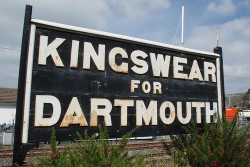 19-244  Kingswear Station,  Dartmouth Steam Railway