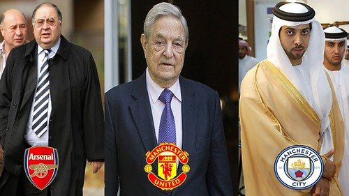 Top 20 Richest Football Club Owners in the World * 2019