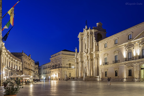 Siracusa : Piazza Duomo / Syracuse : Duomo square