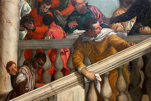 Paolo Veronese. Feast in the House of Levi. 1573. detail