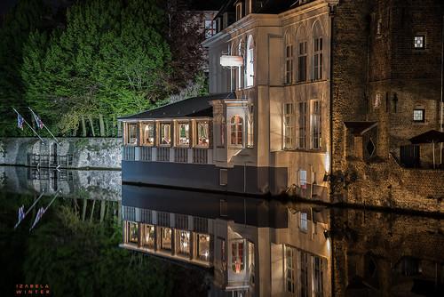 Belgium, Bruges by night