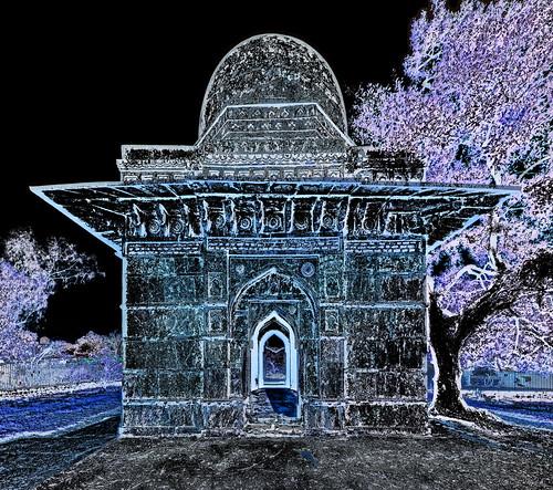 India - Madhya Pradesh - Mandu - Tomb & Mosque - 2dd