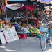 Women on bicycle in Vietnam