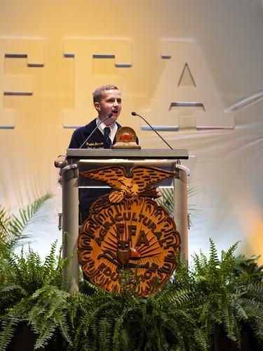 Paxton Dahmer - Missouri State FFA President