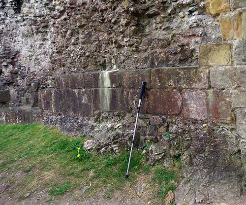 My monopod - Peveril Castle, Derbyshire