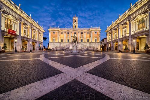 Capitoline Hill || Colina Capitolina (Piazza del Campidoglio, Roma; Lazio. Italy)
