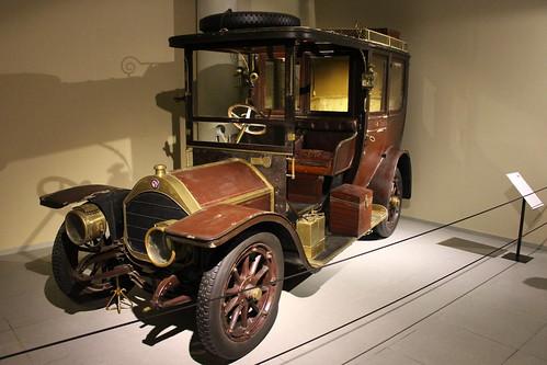 2018-08-08; 0041. Nagant Type D14-16-HP Town car (1909). Louwman Museum Den Haag.