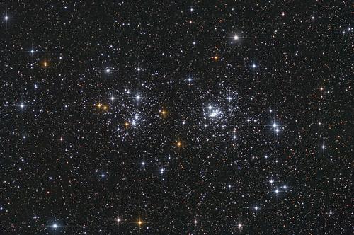 Double Cluster NGC884, NGC869