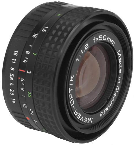 Meyer-Optik 1:1.8 f=50mm