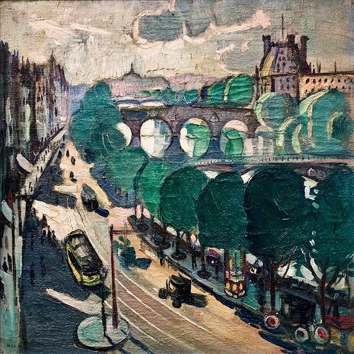 Paris - Quai de Voltaire (1930-1937) - Mily Possoz (1888-1968)