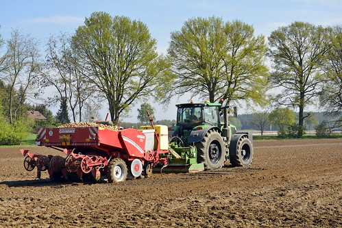 Germany - Lower Saxony - Potato Planting - 8
