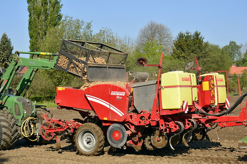 Germany - Lower Saxony - Potato Planting - 5