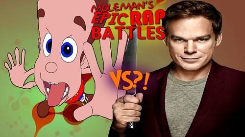 Moleman's Epic Rap Battles #44: Jimmy Neutron Vs. Dexter