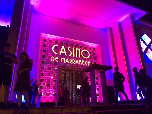 Devanture du casino de Marrakech
