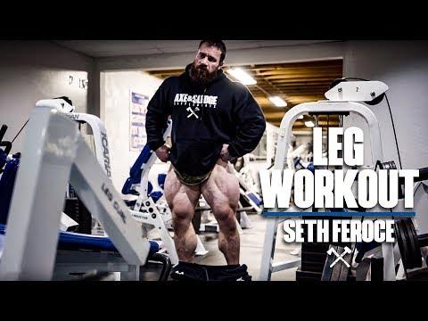 Leg Workout with Seth Feroce