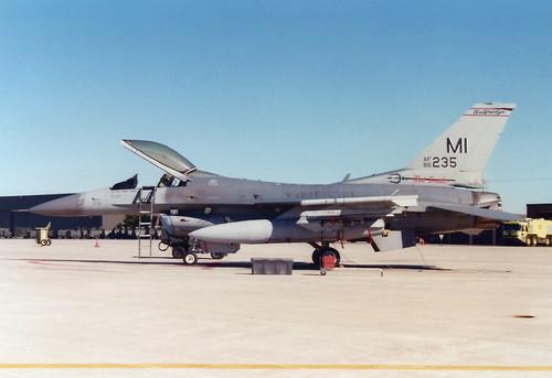 F-16C 86-0235 107FS MI ANG