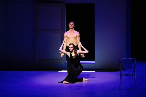 Artem Ovchharenko as Vronsky with Olga Smirnova as Anna in