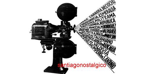 mi listado de salas de cine que funcionaron en Santiago de Chile en el siglo XX