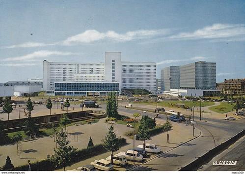 CHU  NANTES (44) - Le Centre Hospitalier