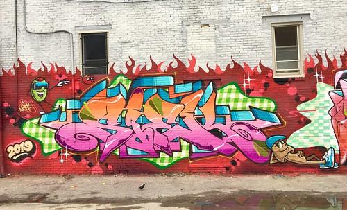 W/ Daver in Charles Village, Baltimore