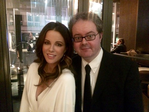 Me and My Good Friend Kate Beckinsale