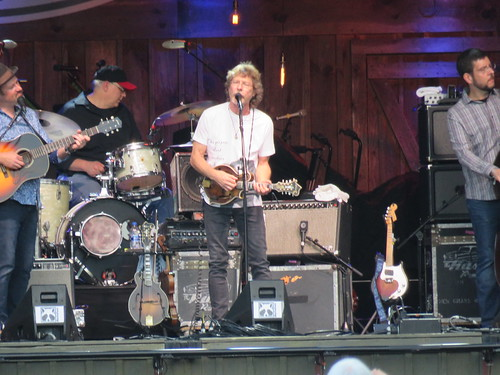 The Sam Bush Band on the Watson Stage