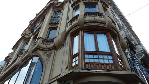 42 arch Joanny Morin - constr 1905 le Martre de France, 1er édifice en BETON Armé de la ville. Conçu pour M Preyna-Seauve, juge au tribunal de commerce de St Etienne,