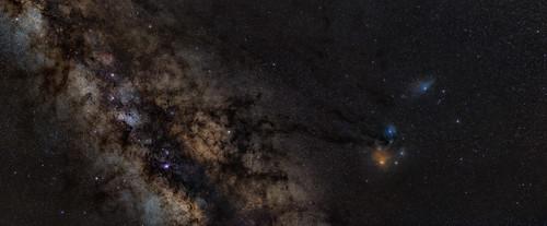 Milky Way to Antares