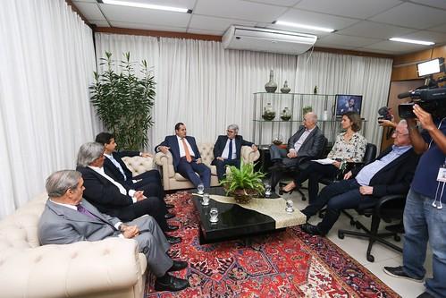 07-05-2019 - Visita do Presidente e dos Diretores do Fórum Empresarial da Bahia