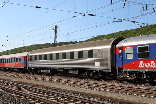 Schlafwagen 61 81 70 - 70 006-5, Pilgerzug, Gemünden
